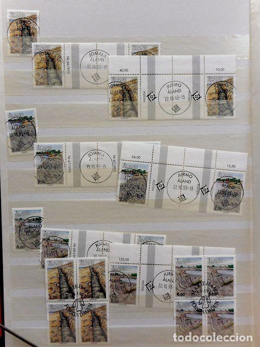 Sellos: SELLOS DE ALAND, en dos tomos. - Foto 12 - 131561266