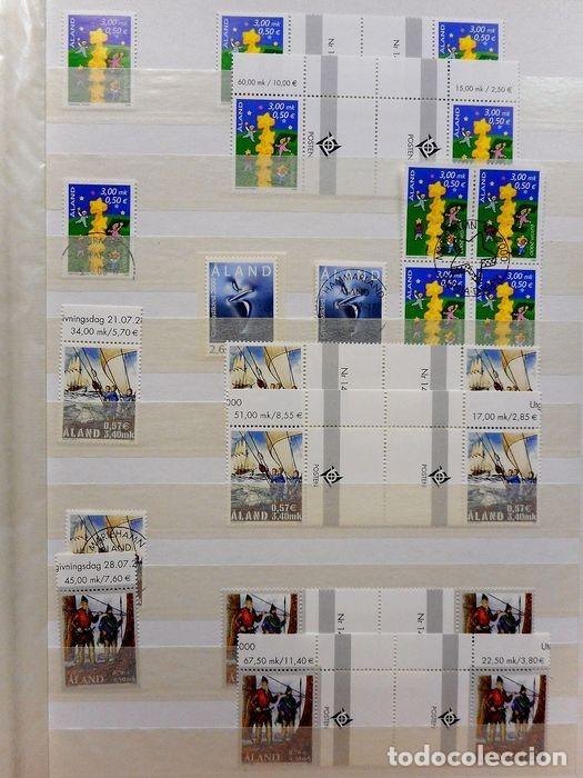 Sellos: SELLOS DE ALAND, en dos tomos. - Foto 13 - 131561266