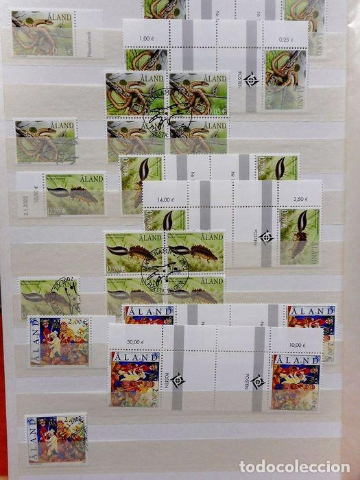 Sellos: SELLOS DE ALAND, en dos tomos. - Foto 15 - 131561266