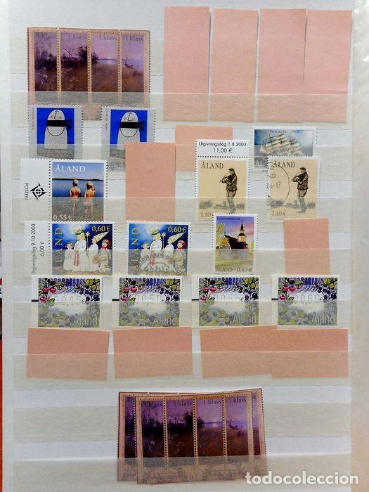 Sellos: SELLOS DE ALAND, en dos tomos. - Foto 16 - 131561266