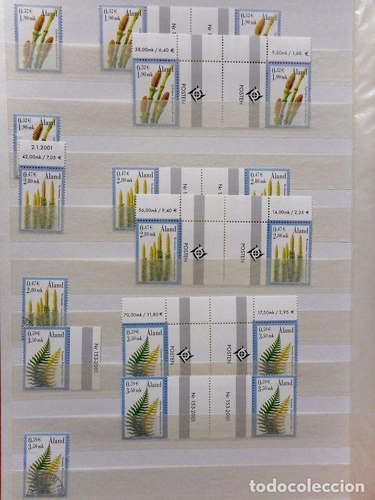 Sellos: SELLOS DE ALAND, en dos tomos. - Foto 17 - 131561266