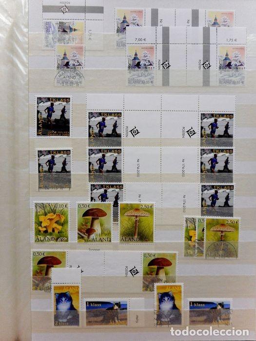 Sellos: SELLOS DE ALAND, en dos tomos. - Foto 18 - 131561266