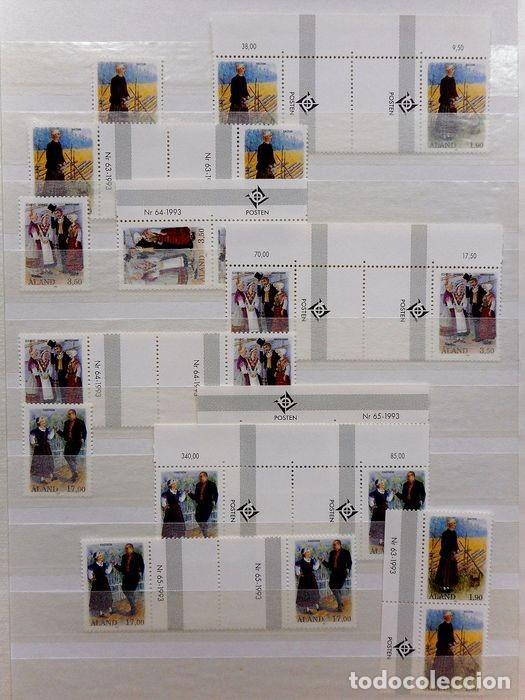 Sellos: SELLOS DE ALAND, en dos tomos. - Foto 22 - 131561266