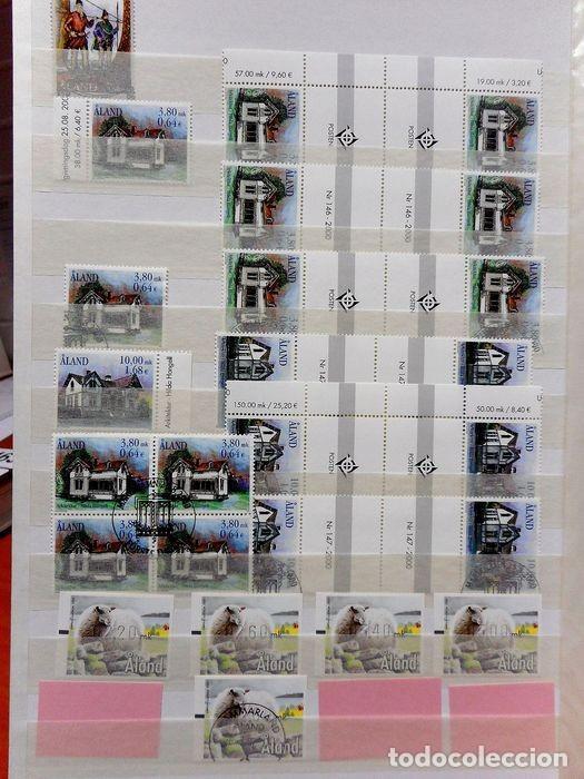 Sellos: SELLOS DE ALAND, en dos tomos. - Foto 26 - 131561266