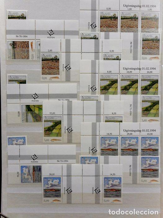 Sellos: SELLOS DE ALAND, en dos tomos. - Foto 27 - 131561266