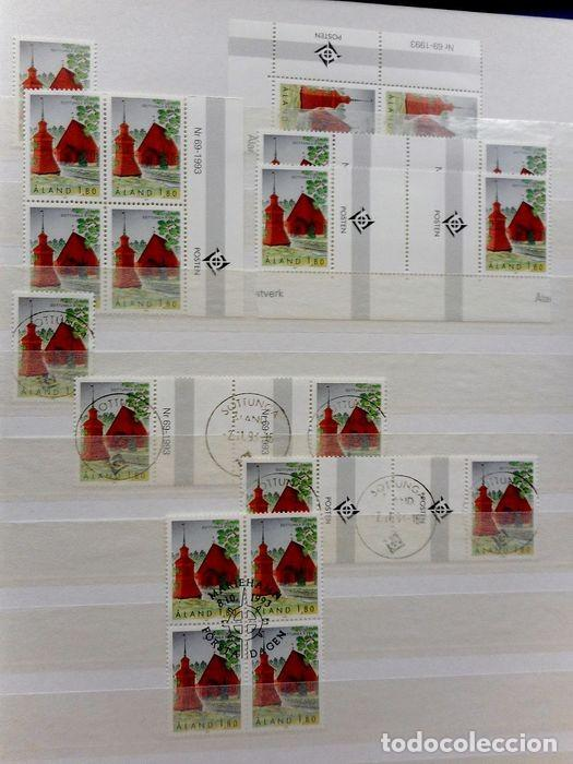 Sellos: SELLOS DE ALAND, en dos tomos. - Foto 28 - 131561266