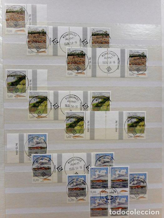 Sellos: SELLOS DE ALAND, en dos tomos. - Foto 29 - 131561266