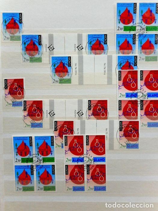 Sellos: SELLOS DE ALAND, en dos tomos. - Foto 31 - 131561266