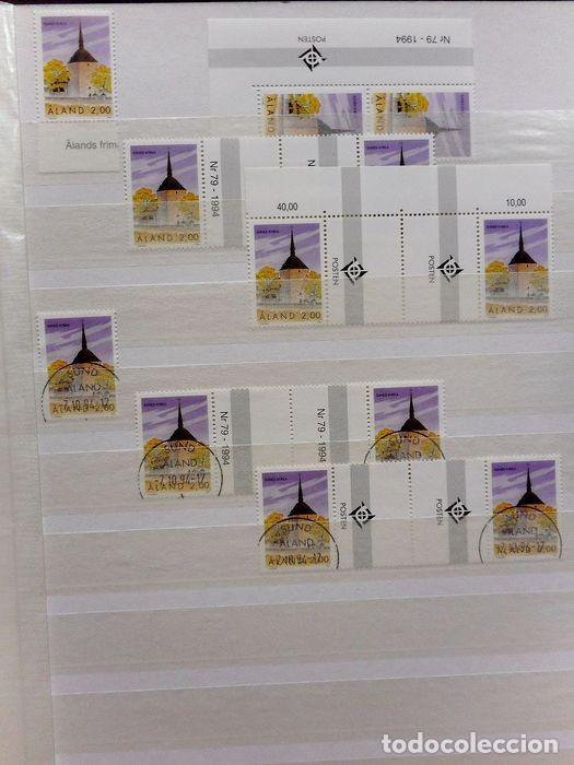 Sellos: SELLOS DE ALAND, en dos tomos. - Foto 35 - 131561266
