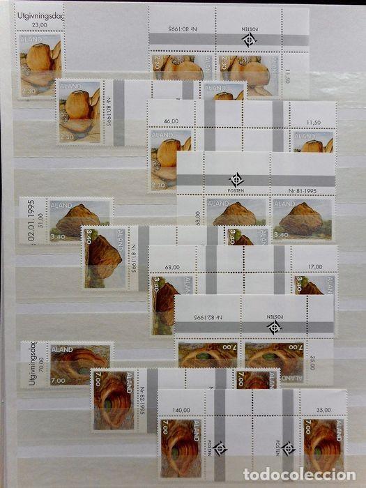 Sellos: SELLOS DE ALAND, en dos tomos. - Foto 36 - 131561266