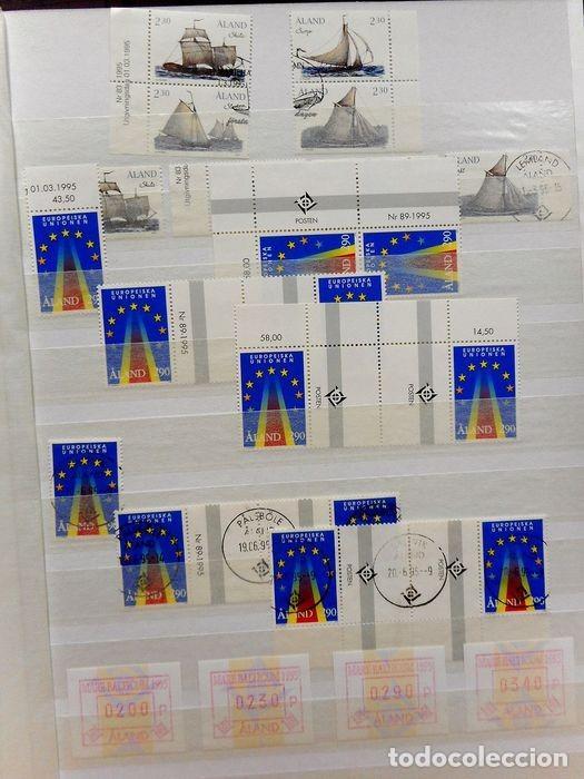 Sellos: SELLOS DE ALAND, en dos tomos. - Foto 39 - 131561266