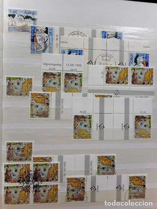 Sellos: SELLOS DE ALAND, en dos tomos. - Foto 41 - 131561266