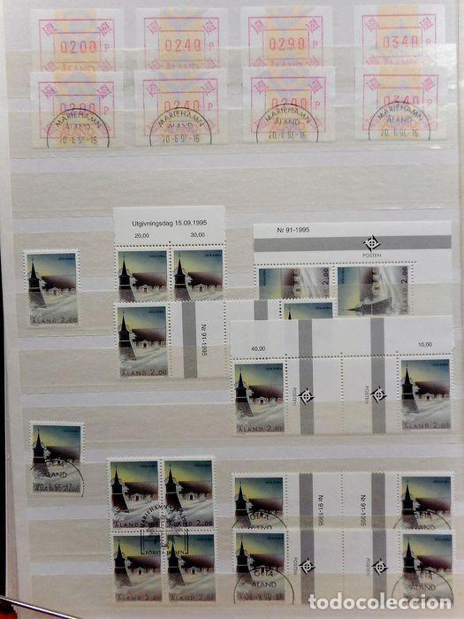 Sellos: SELLOS DE ALAND, en dos tomos. - Foto 43 - 131561266