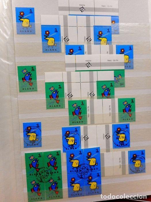 Sellos: SELLOS DE ALAND, en dos tomos. - Foto 44 - 131561266