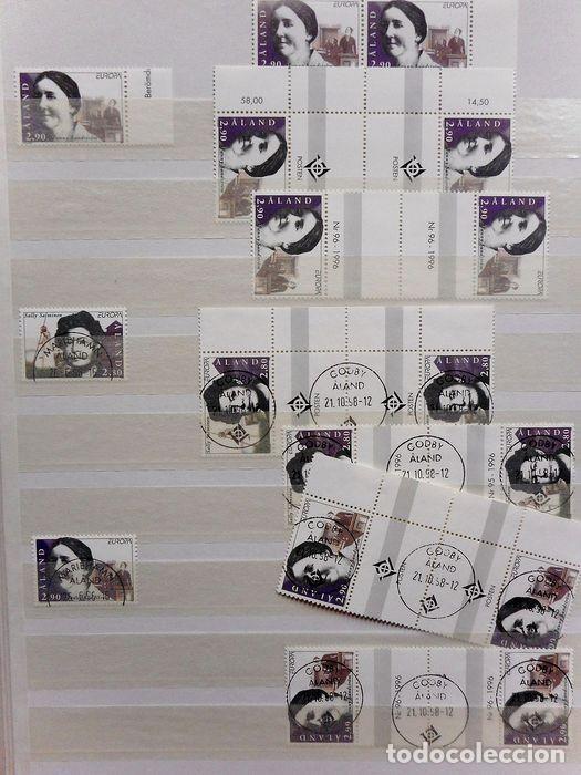Sellos: SELLOS DE ALAND, en dos tomos. - Foto 47 - 131561266