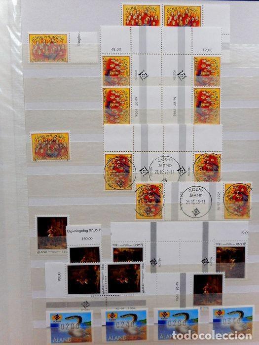 Sellos: SELLOS DE ALAND, en dos tomos. - Foto 48 - 131561266