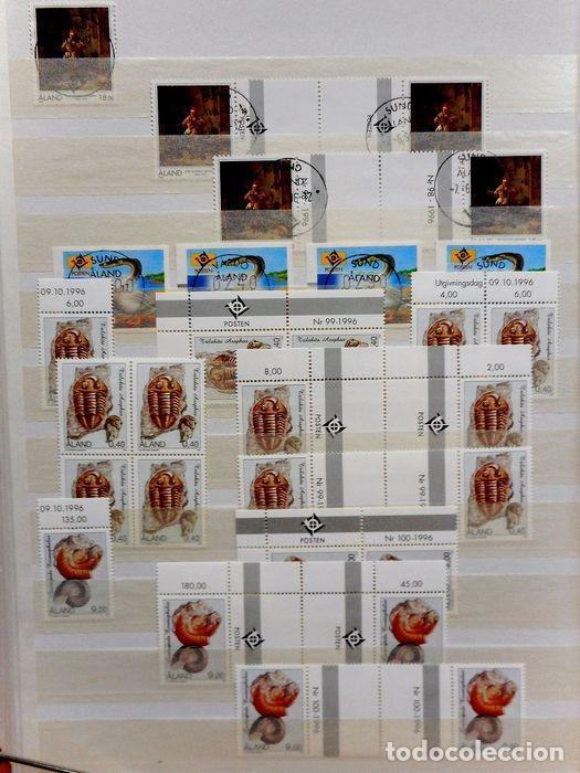 Sellos: SELLOS DE ALAND, en dos tomos. - Foto 49 - 131561266