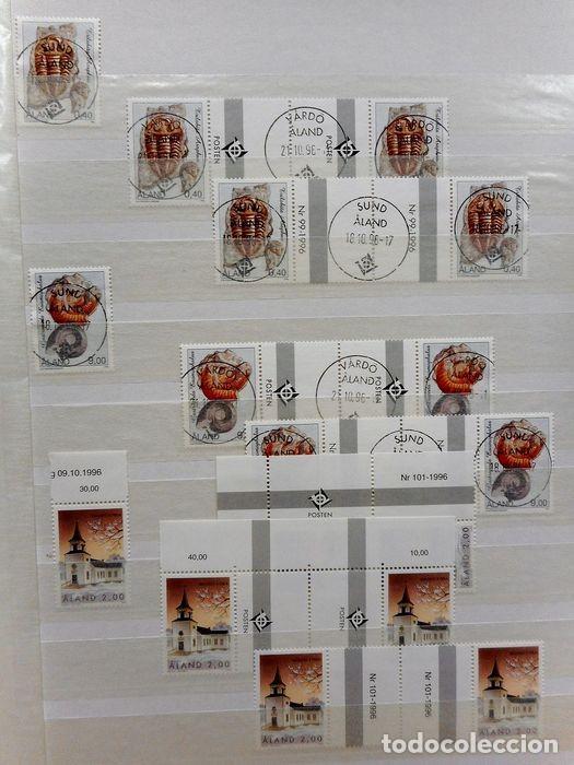 Sellos: SELLOS DE ALAND, en dos tomos. - Foto 50 - 131561266