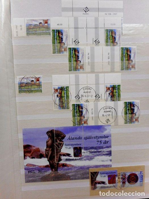 Sellos: SELLOS DE ALAND, en dos tomos. - Foto 53 - 131561266