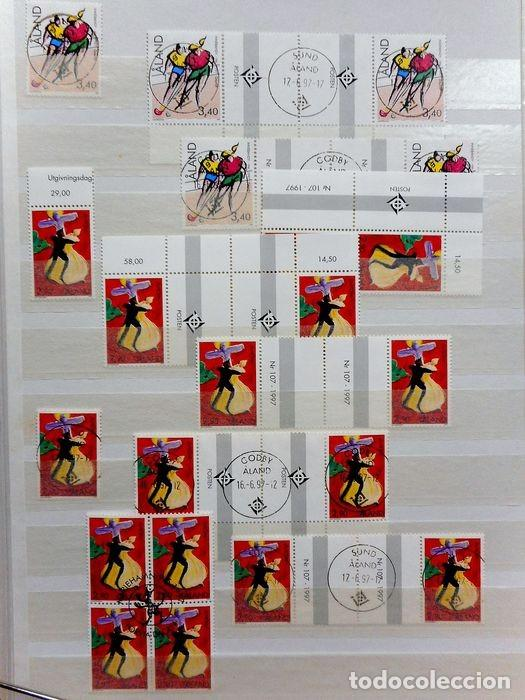 Sellos: SELLOS DE ALAND, en dos tomos. - Foto 54 - 131561266