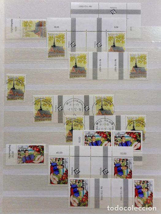 Sellos: SELLOS DE ALAND, en dos tomos. - Foto 55 - 131561266