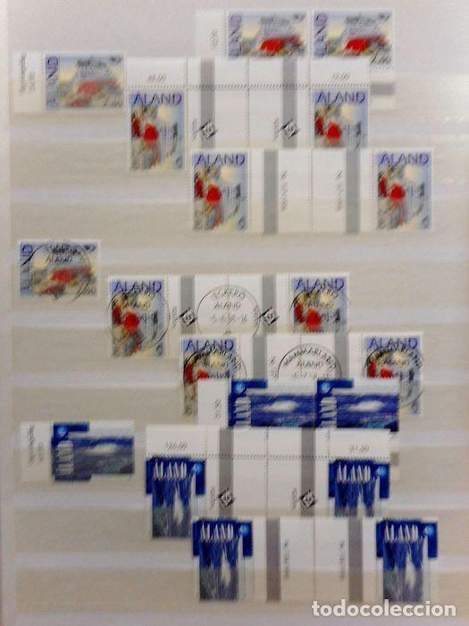 Sellos: SELLOS DE ALAND, en dos tomos. - Foto 58 - 131561266