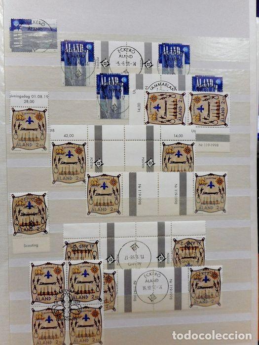 Sellos: SELLOS DE ALAND, en dos tomos. - Foto 59 - 131561266