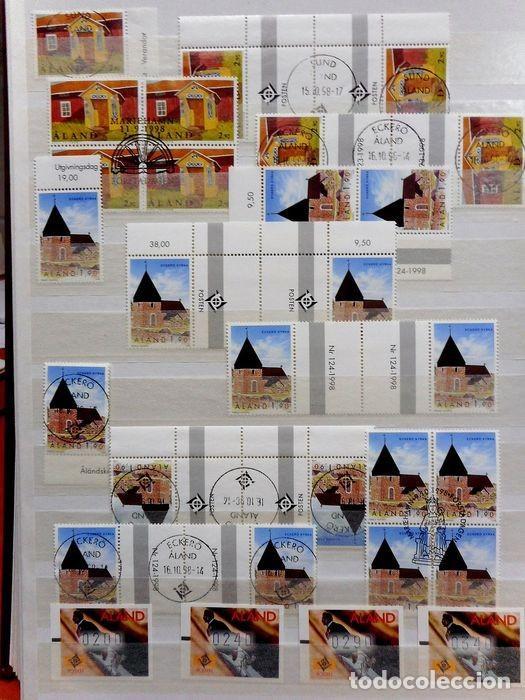 Sellos: SELLOS DE ALAND, en dos tomos. - Foto 60 - 131561266
