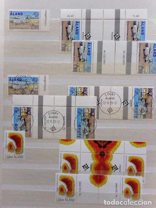 Sellos: SELLOS DE ALAND, en dos tomos. - Foto 63 - 131561266