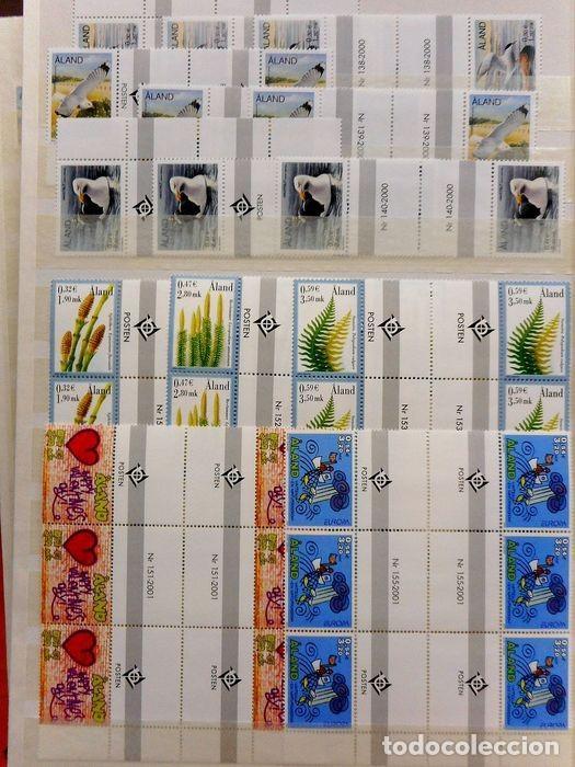 Sellos: SELLOS DE ALAND, en dos tomos. - Foto 64 - 131561266