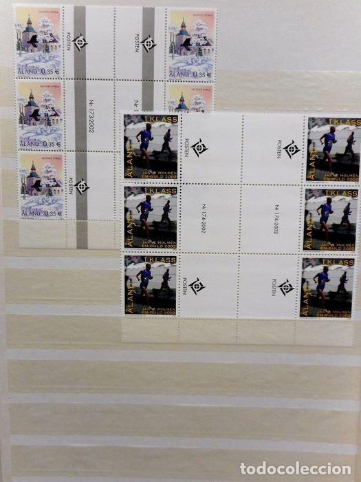 Sellos: SELLOS DE ALAND, en dos tomos. - Foto 66 - 131561266