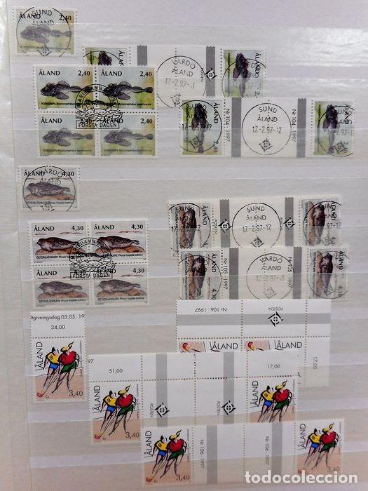 Sellos: SELLOS DE ALAND, en dos tomos. - Foto 69 - 131561266