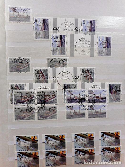 Sellos: SELLOS DE ALAND, en dos tomos. - Foto 70 - 131561266