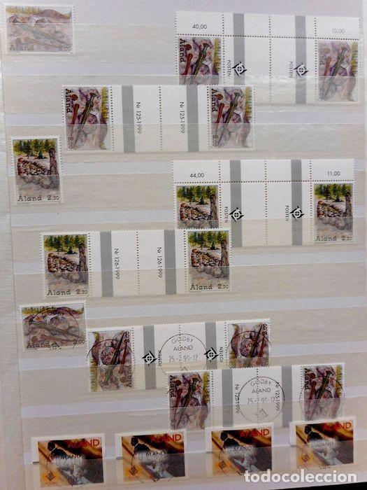 Sellos: SELLOS DE ALAND, en dos tomos. - Foto 72 - 131561266