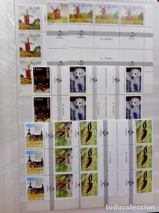 Sellos: SELLOS DE ALAND, en dos tomos. - Foto 73 - 131561266