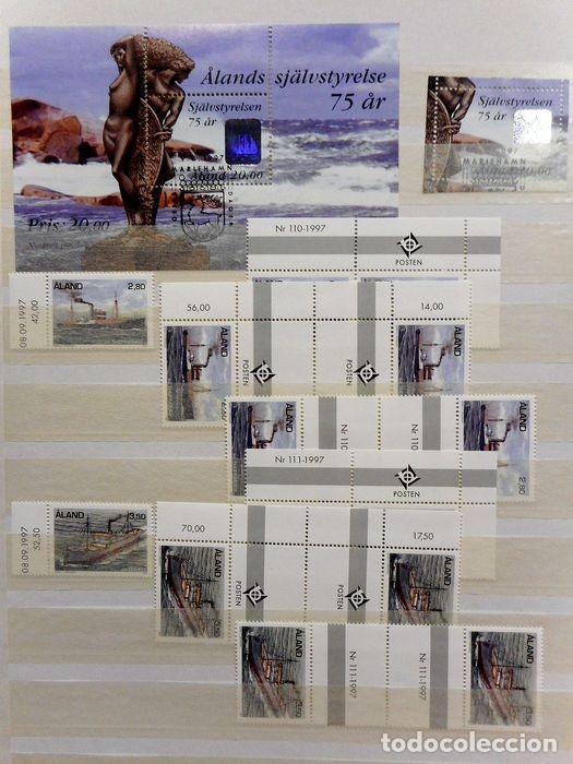 Sellos: SELLOS DE ALAND, en dos tomos. - Foto 76 - 131561266