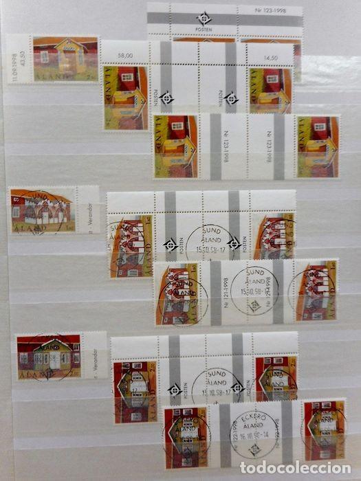 Sellos: SELLOS DE ALAND, en dos tomos. - Foto 77 - 131561266