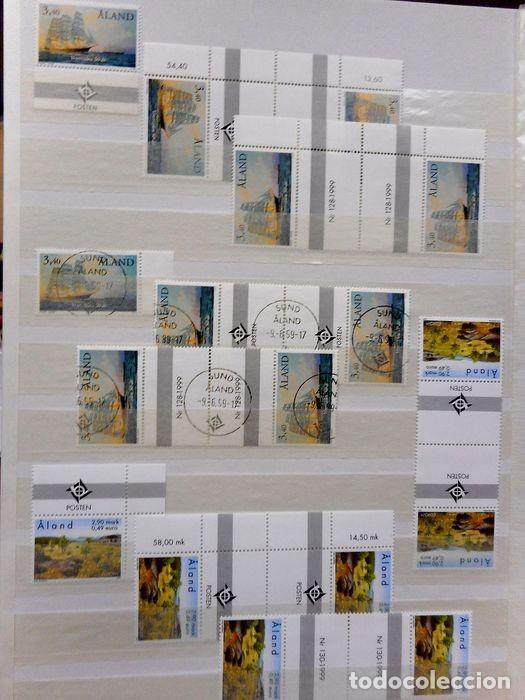 Sellos: SELLOS DE ALAND, en dos tomos. - Foto 78 - 131561266
