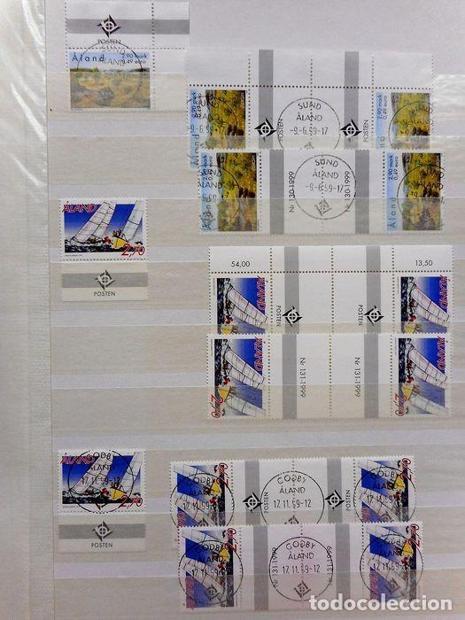 Sellos: SELLOS DE ALAND, en dos tomos. - Foto 79 - 131561266