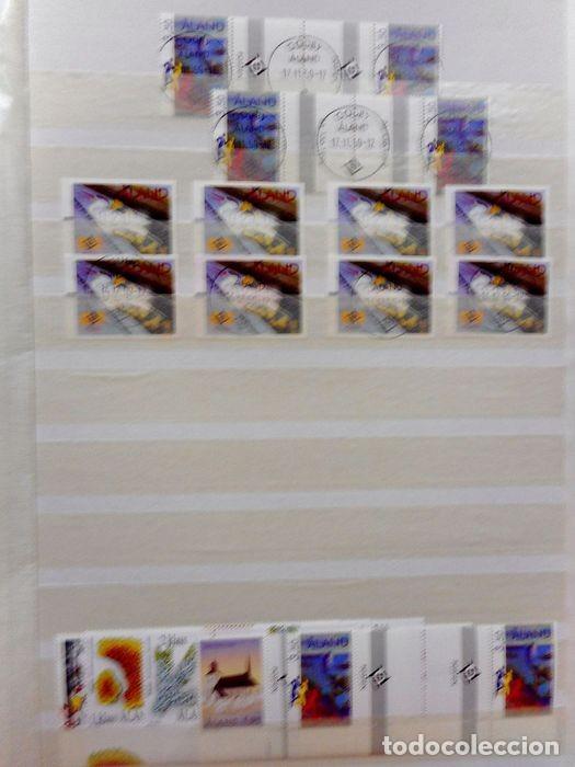 Sellos: SELLOS DE ALAND, en dos tomos. - Foto 80 - 131561266