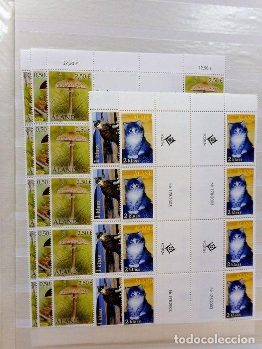 Sellos: SELLOS DE ALAND, en dos tomos. - Foto 81 - 131561266