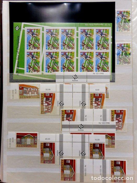 Sellos: SELLOS DE ALAND, en dos tomos. - Foto 82 - 131561266