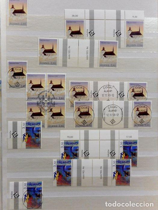 Sellos: SELLOS DE ALAND, en dos tomos. - Foto 84 - 131561266