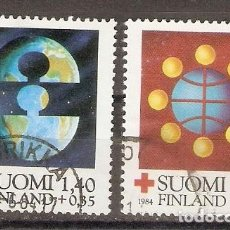 Sellos: FINLANDIA.1984. YT. 910,911. CRUZ ROJA. Lote 133391278