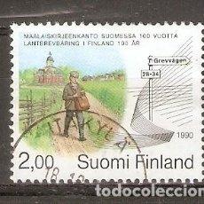 Sellos: FINLANDIA.1990. YT. 1079. Lote 133391346