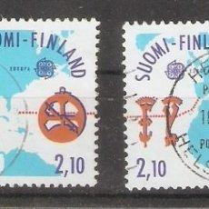 Sellos: FINLANDIA.1992. YT. 1141,1142. Lote 133391466