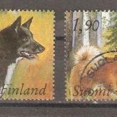 Sellos: FINLANDIA.1989. YT. 1044/1047. PERROS. Lote 133394442