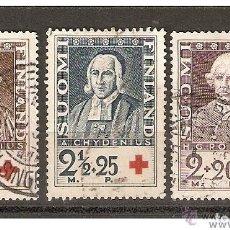 Sellos: FINLANDIA. 1935. YVERT Nº 180 A 182.. Lote 133400602