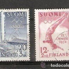 Sellos: FINLANDIA. 1951 YVERT Nº 382 ,383. Lote 133401114