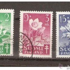 Sellos: FINLANDIA. 1950. YVERT Nº 368 A 370. Lote 133401242